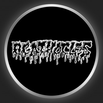 AGATHOCLES - Logo On Black Button