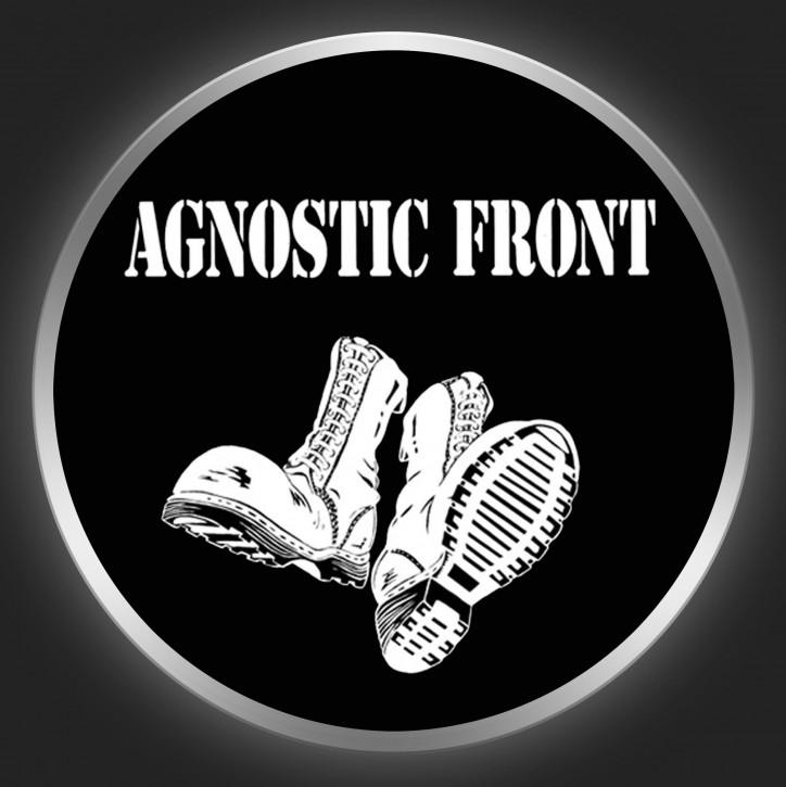 AGNOSTIC FRONT - Boots Button