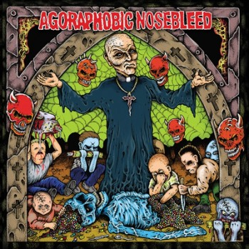 AGORAPHOBIC NOSEBLEED - Altered States Of America / ANBRX Pharmaceuticals II  LP (Baby Pink)