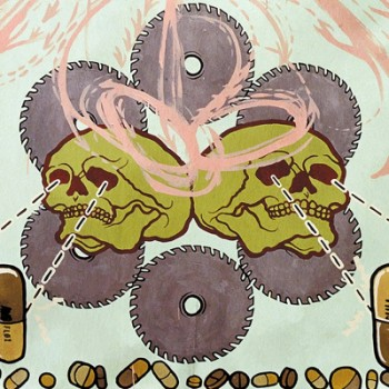 AGORAPHOBIC NOSEBLEED - Frozen Corpse Stuffed With Dope LP (Baby Blue)