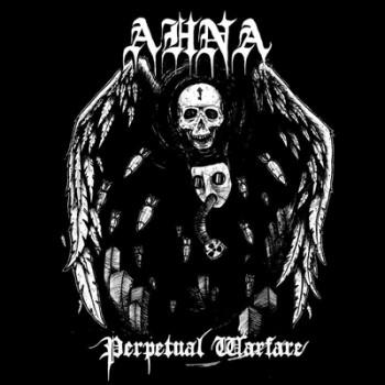 AHNA - Perpetual Warfare LP (White / Black Splatter)