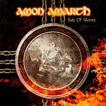 AMON AMARTH - Fate Of Norns LP (Orange / Brown Marbled)