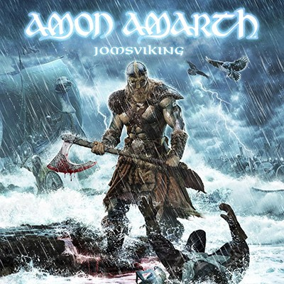 AMON AMARTH - Jomsviking LP (Skye Blue Marbled)