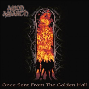 AMON AMARTH - Once Sent From The Golden Hall LP (Opaque Orange / Black Marbled)