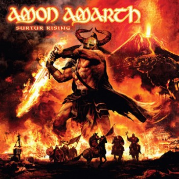 AMON AMARTH - Surtur Rising LP (Clear Signal-Orange)