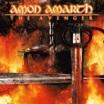 AMON AMARTH - The Avenger LP (Bloodred / Black Marbled)