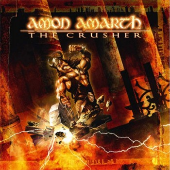 AMON AMARTH - The Crusher LP (Orange / Brown Marbled)