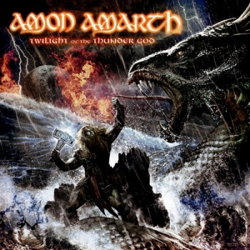 AMON AMARTH - Twilight Of The Thunder God LP (Clear Sea-Blue Marbled)
