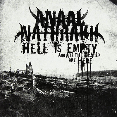 ANAAL NATHRAKH - Hell Is Empty And All The Devils Are Here LP (Ivory Grey Marbled)