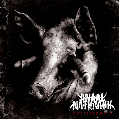 ANAAL NATHRAAK - Endarkenment LP (Clear Brown / Grey Marbled)
