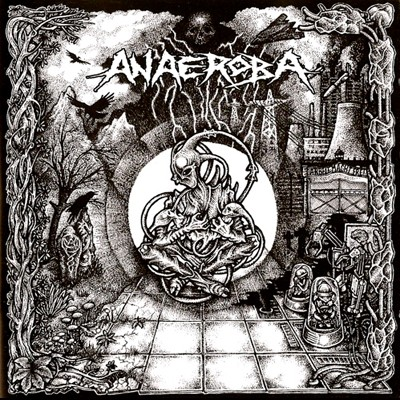 ANAEROBA - Over The Walls And Borders LP