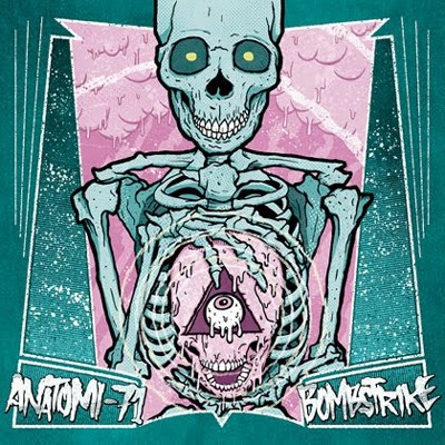 ANATOMI - 71 / BOMBSTRIKE - Split EP