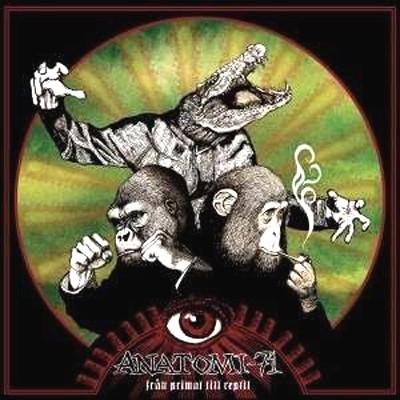 ANATOMI-71 - Fran Primat Till Reptil LP