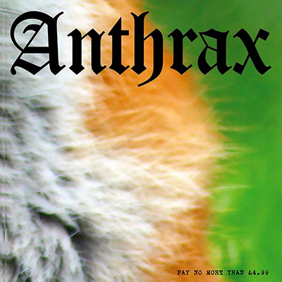 ANTHRAX / ACTIVE SLAUGHTER - Dead Air / Born Free EP (Hunt Saboteurs Association Benefit Series # 9)
