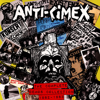 ANTI-CIMEX - The Complete Demos Collection 1982 - 1983 LP