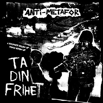 ANTI-METAFOR / SCARRED EARTH - Split EP