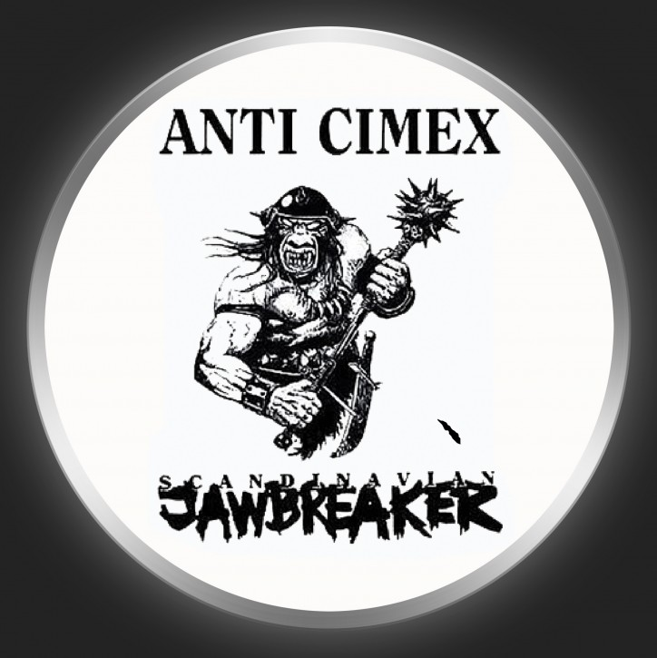 ANTI-CIMEX - Scandinavian Jawbreaker Button