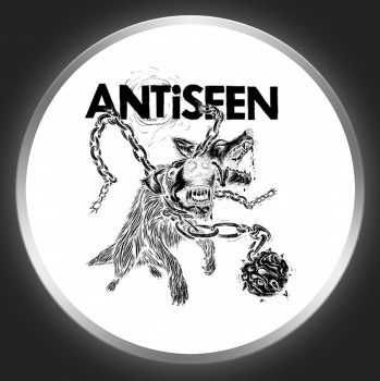 ANTISEEN - Two-Headed Dog Button