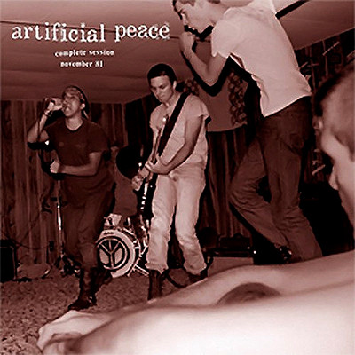 ARTIFICIAL PEACE - Complete Session November 81 LP (Red)