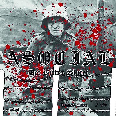 "ASOCIAL - Det Bittra Slutet 7"" PICTURE EP (Die Hard) PRE-ORDER"