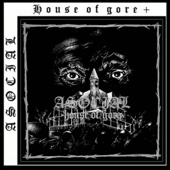 ASOCIAL - House Of Gore + LP (Black)