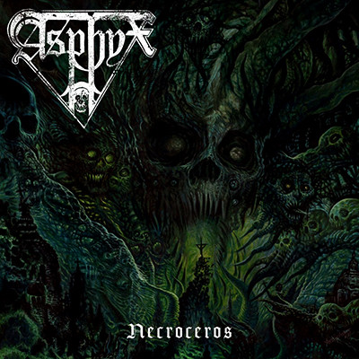 ASPHYX - Necroceros LP (Grey)
