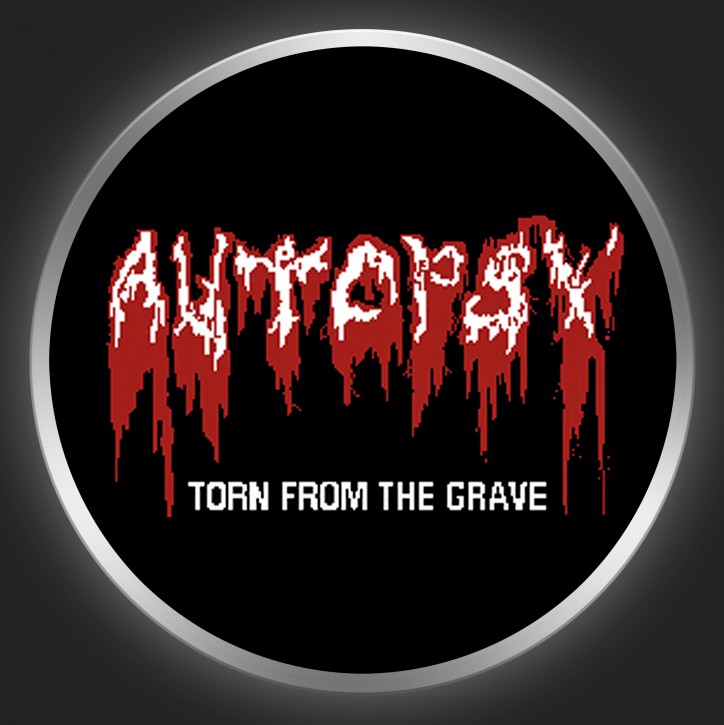 AUTOPSY - Torn From The Grave Button