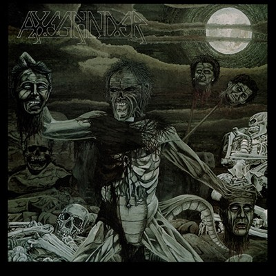 AXEGRINDER - The Rise Of Serpent Man LP