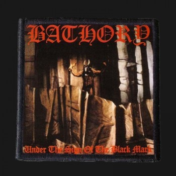 BATHORY - Under The Sign Of The Black Mark Patch