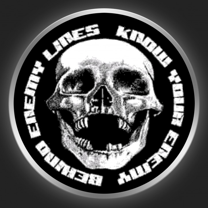 BEHIND ENEMY LINES - Know Your Enemy Button