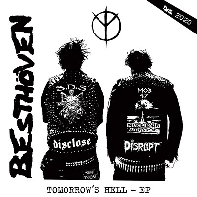BESTHÖVEN - Tomorrow´s Hell EP (Black) PRE-ORDER