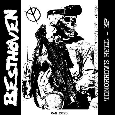 BESTHÖVEN - Tomorrow´s Hell EP (White / Swamp Green Splatter)