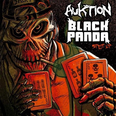 BLACK PANDA / AUKTION - Split EP