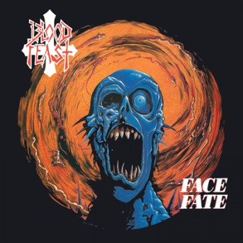 BLOOD FEAST - Face Fate MLP (Transparent Milky Clear / Solid Orange Splatter)