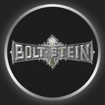 BOLT STEIN - Metallic Logo On Black Button