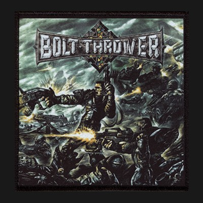 BOLT THROWER - Honour Valour Pride Patch