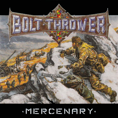BOLT THROWER - Mercenary LP (Snow Slush White Marbled)