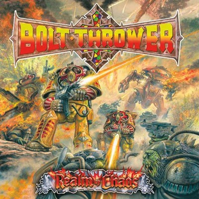 BOLT THROWER - Realm Of Chaos LP (Clear)