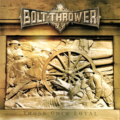 BOLT THROWER - Those Once Loyal LP (Oakwood Brown Marbled)
