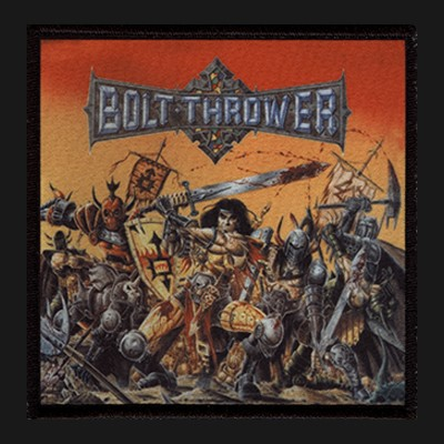 BOLT THROWER -Warmaster Patch