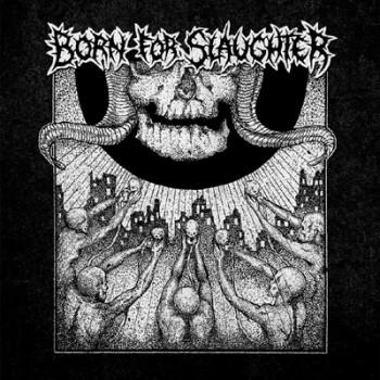 """BORN FOR SLAUGHTER - Same 12"""" (Black)"""