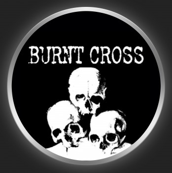 BURNT CROSS - Carcass Of Humanity Button