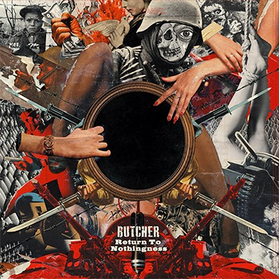 BUTCHER - Return To Nothingness LP (Turquoise Marbled)