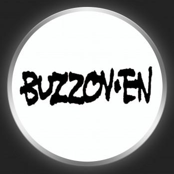 BUZZOV-EN - Black Logo On White Button