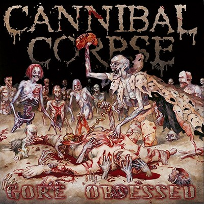 CANNIBAL CORPSE - Gore Obsessed LP (Viole[n]t Marbled)