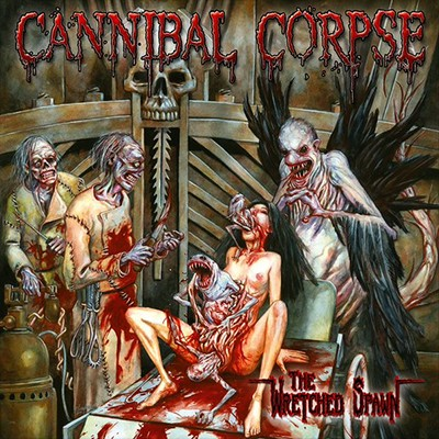 CANNIBAL CORPSE - The Wretched Spawn LP (Clear / Red / Blue Marbled)