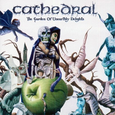 CATHEDRAL - The Garden Of Unearthly Delights 2 x LP (Milky Clear)