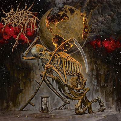 "CATTLE DECAPITATION - Death Atlas 2 x LP (""Chocking Sulfur"")"