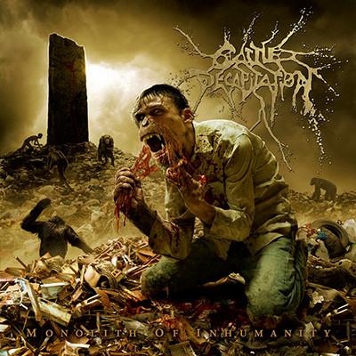 "CATTLE DECAPITATION - Monolith Of Inhumanity LP (""Projectile Ovulation"" Splatter)"