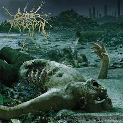 "CATTLE DECAPITATION - The Anthropocene Extinction LP (""Circo Inhumanitas"" - Yellow / Red ""Circus Tent"")"